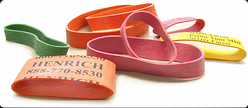 Henrich Industrial rubber bands